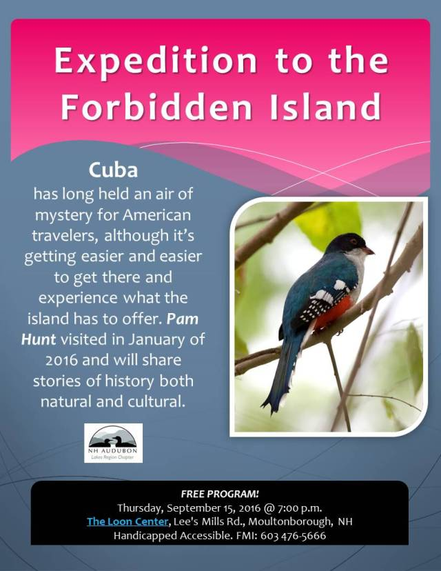 Birds Cuba Sep 2016 flyer
